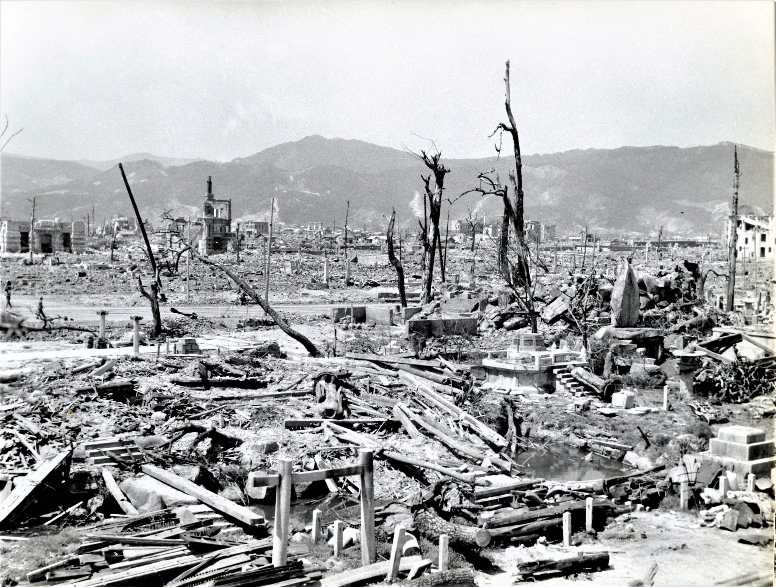 Hiroshima ruins 1946
